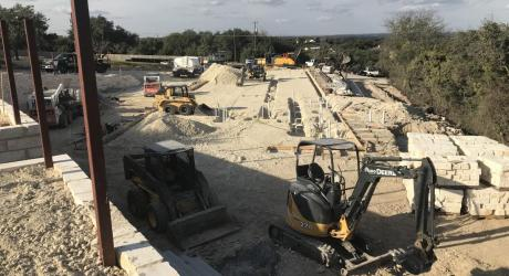 Dripping Springs Austin Java Restaurant and Warehouse Site Design